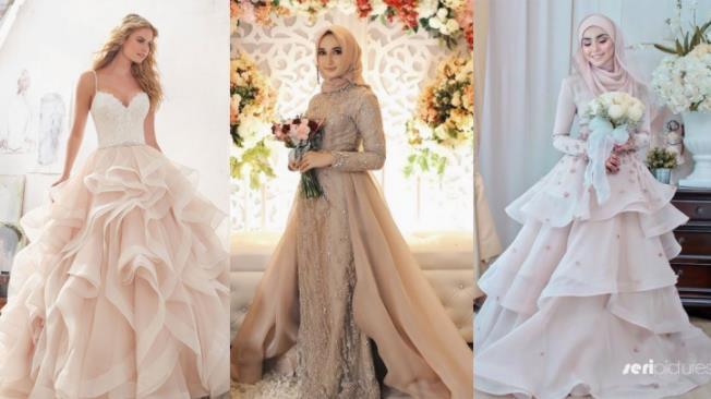 Inspirasi Wedding Dress yang Membuatmu Anggun dan Cantik