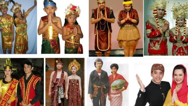 Pakaian Adat Indonesia dari Sabang Sampai Merauke